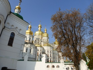 Picture of the cathedral at the Lavra