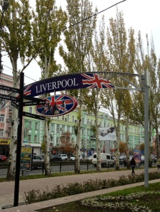 Liverpool is big in Donetsk