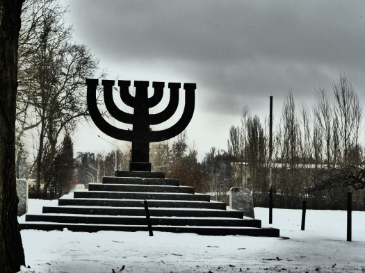 Menorah at Babyn Yar